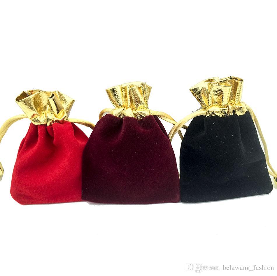 BELAWANG 7x9cm Velvet Drawstring Pouch Bag/Jewelry Bag,Christmas/Wedding Birthday Easter Party Halloween Party Gift Bag