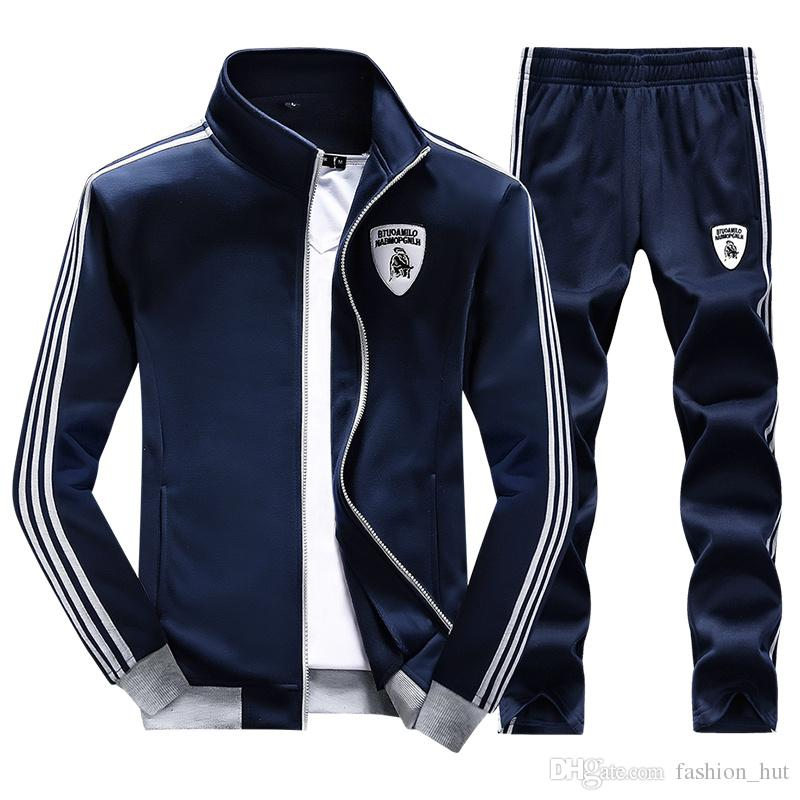 X-2 Mens Athletic Full Zip Fleece Tracksuit Jogging Gym ...  |Athletic Tracksuits
