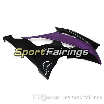 Carenados Negro Púrpura Para Yamaha YZF600 R6 08 - 15 Año 2008 2009 2010 2011 2015 Sportbike ABS Motocicleta Kit Carenado Cubiertas