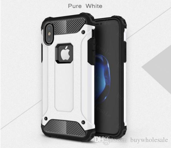 Hybrid Armor phone case Heavy Duty Defender Back Cover Shockproof for samsung S8 Plus Note 8 S7 Iphone 6 7 iphone8 hot style