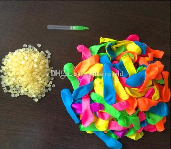 50 Beutel / Los Bunch Water Balloons Magic Wasserballons von Nachfüllbeutel Ballons + Dichtungen O-Ringe + Rohrsatz Magic Balloons Kit