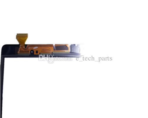 الشاشات التي تعمل باللمس محول الأرقام زجاج عدسة مع الشريط لسامسونج غالاكسي تبويب 9.7 A T550 T551 T555 مع شعار أدوات مجانية