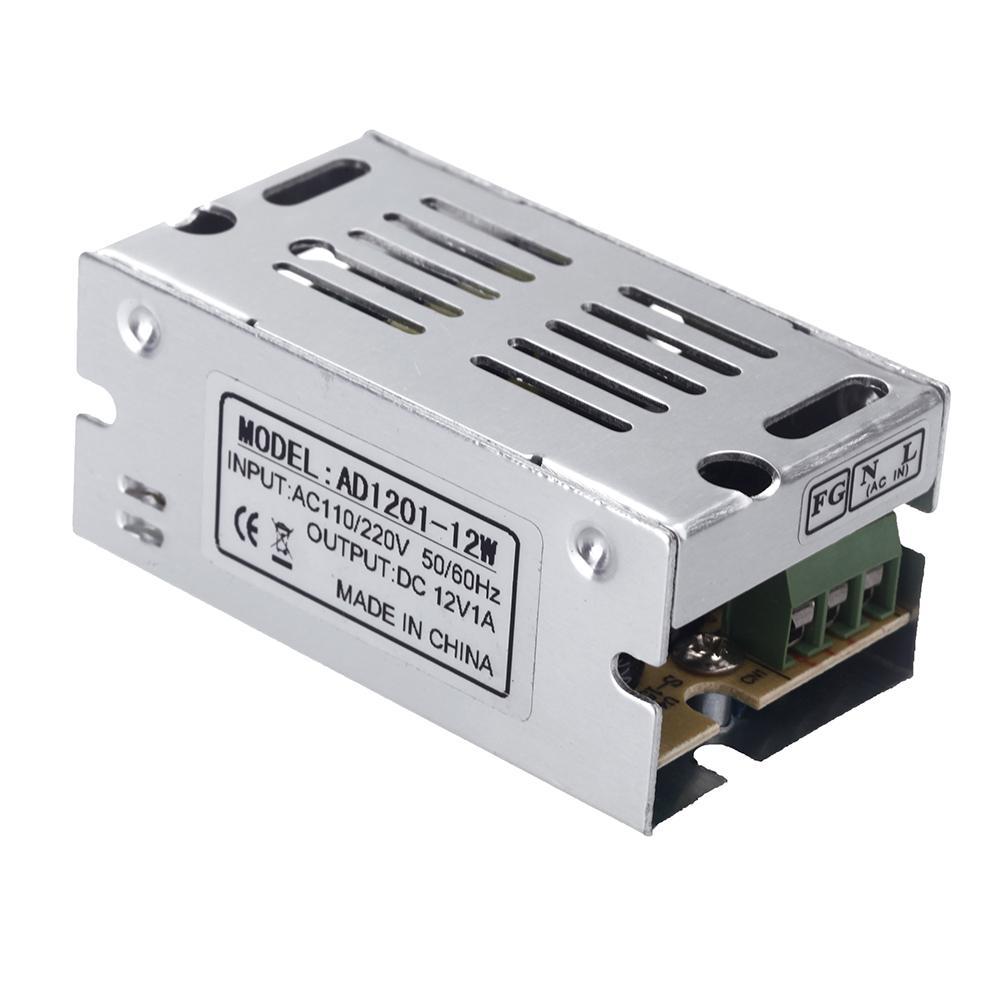 12W 12V 1A переключатель питания переключения адаптер питания трансформатор напряжения для светодиодной полосы света дисплей 110V / 220V
