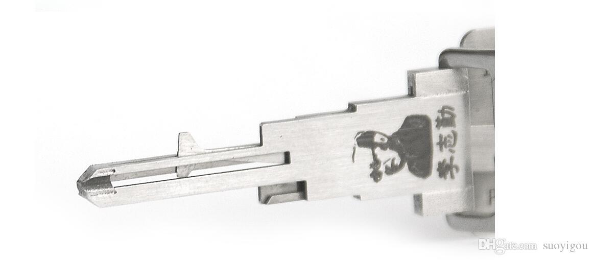 Lishi NSN14 2-In-1 Lock Pick And Decoder/Car Key Decoder/Locksmith Tool For Nissan series SYG-007