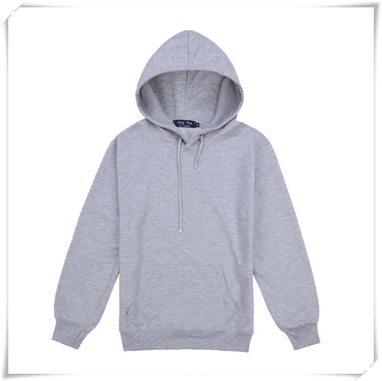 Pull à capuche en coton à capuche pour hommes Sweat à capuche à manches longues Manteau Veste Casual Hoodies plaine Drop Shipping