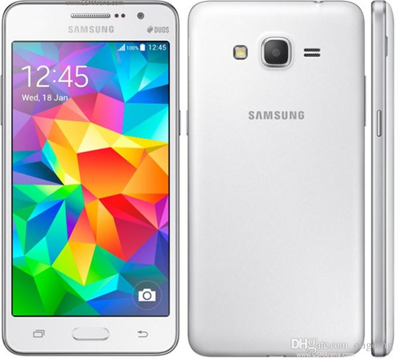Ursprünglicher Großverkauf-Galaxie-Großhandels-G530 G530H Ouad Kern-Doppel-Sim Samsung entsperrte Handy 5,0 Zoll TouchScreen Telefon DHL-freies Verschiffen