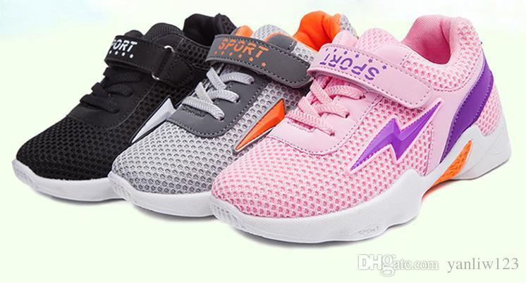 0080ee15fcc37 Acheter Chaussures Pour Enfants Printemps Automne Garçons Sneakers Enfants  Chaussures Toile Suede Enfants Chaussures Mode Sport Chaussures Européennes  ...