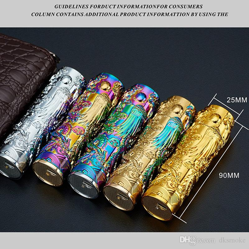 Shake the columned cigarette lighter green USB charging stereo anaglyph windproof lighter metal lighters hot wholesale