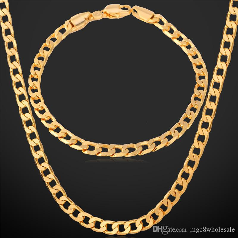 stainless gold link heavy curb for chain itm steel cuban necklace mens