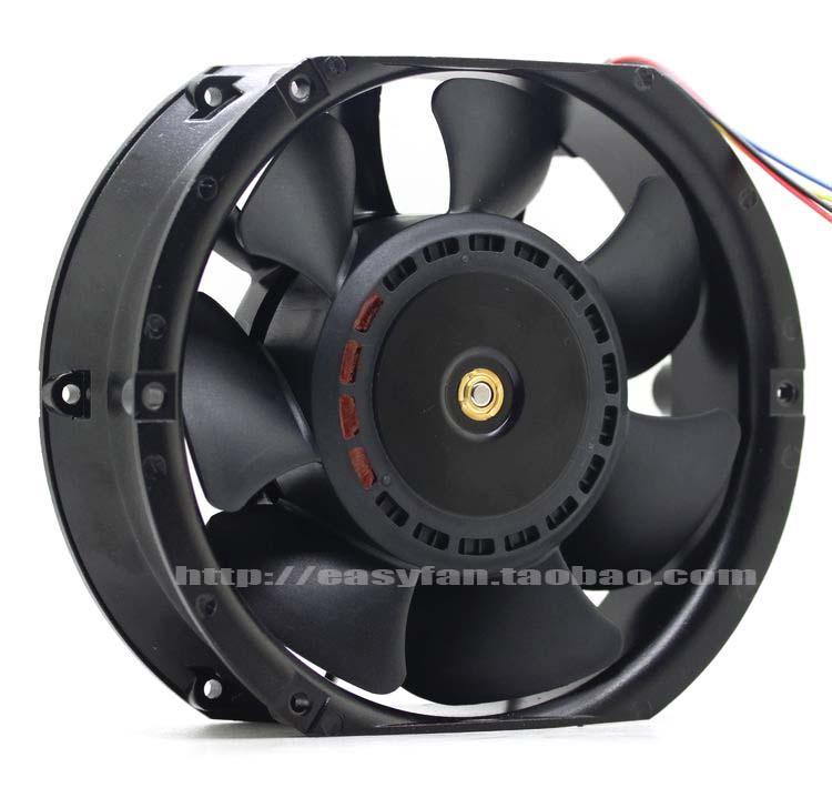New Original DB15051B48U 150 * 150 * 51 MM 15 cm 48 V 2.30A dual ball ventilador da fonte de alimentação de telecomunicações