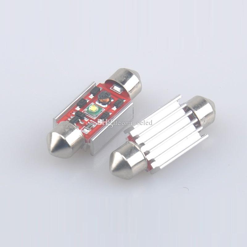 2 Adet / grup Araba Festoon Cree Ampul 31mm / 36mm / 39mm / 41mm 7 W 12 V / 24 V Araba LED Aydınlatma Lambası İç Dome Okuma Işıkları Süper Beyaz