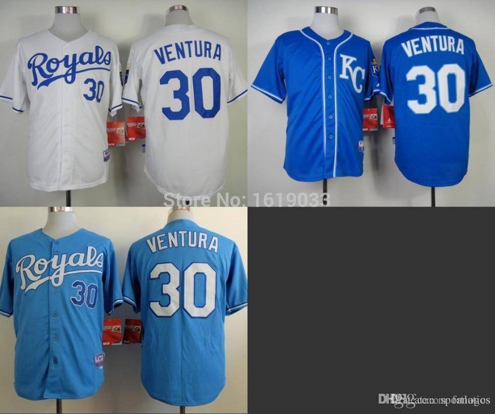 60fd56440c8 ... 2017 2015 New Cheap Kansas City Royals 30 Yordano Ventura Ba ...