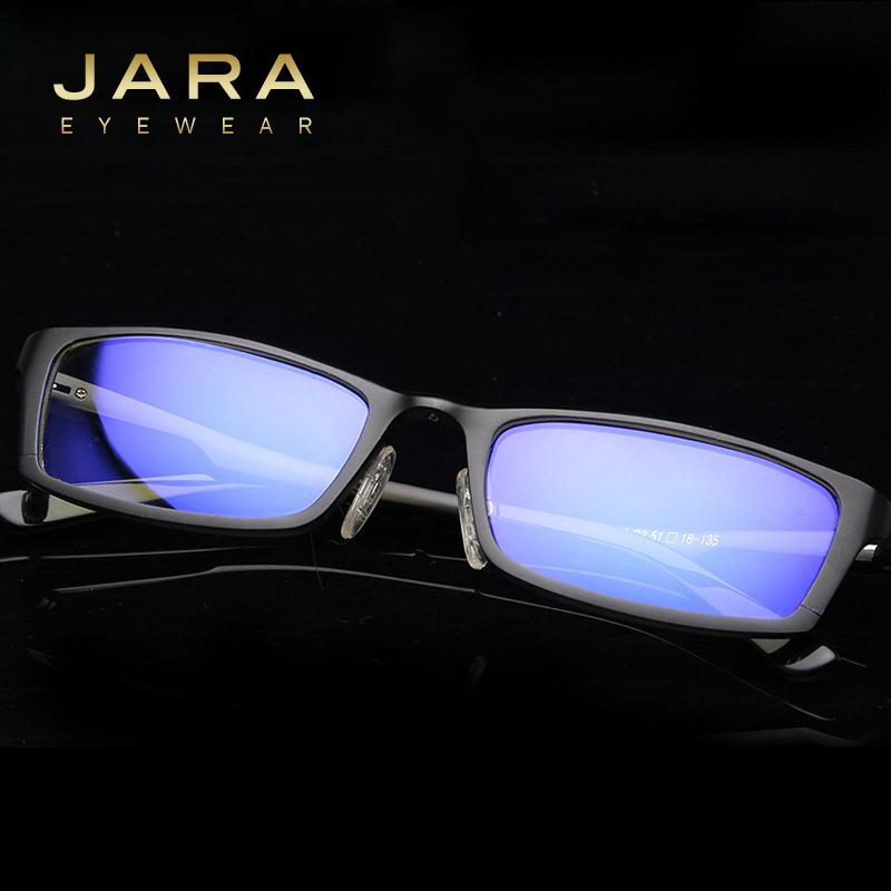 386c57ac2e Wholesale- JARA Titanium Men Women Anti-blue Ray Computer Glasses ...