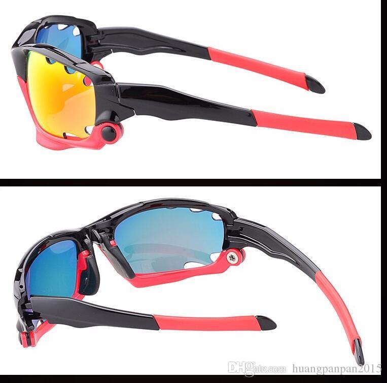 Men UV400 Cycling Glasses Outdoor Sport Mountain Bike MTB Bicycle Glasses Motorcycle Sunglasses Eyewear Oculos Ciclismo J042
