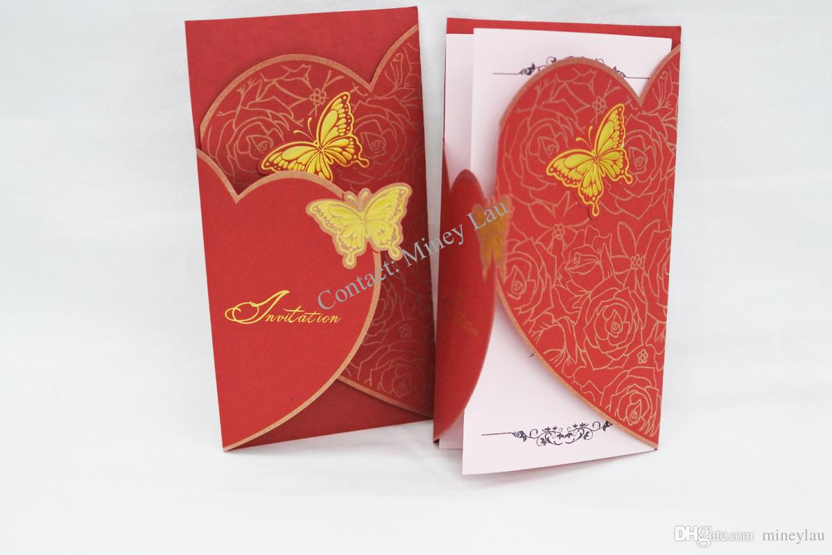 Creative Luxury High Quality Elegant Wedding Card, Birthday Card ...