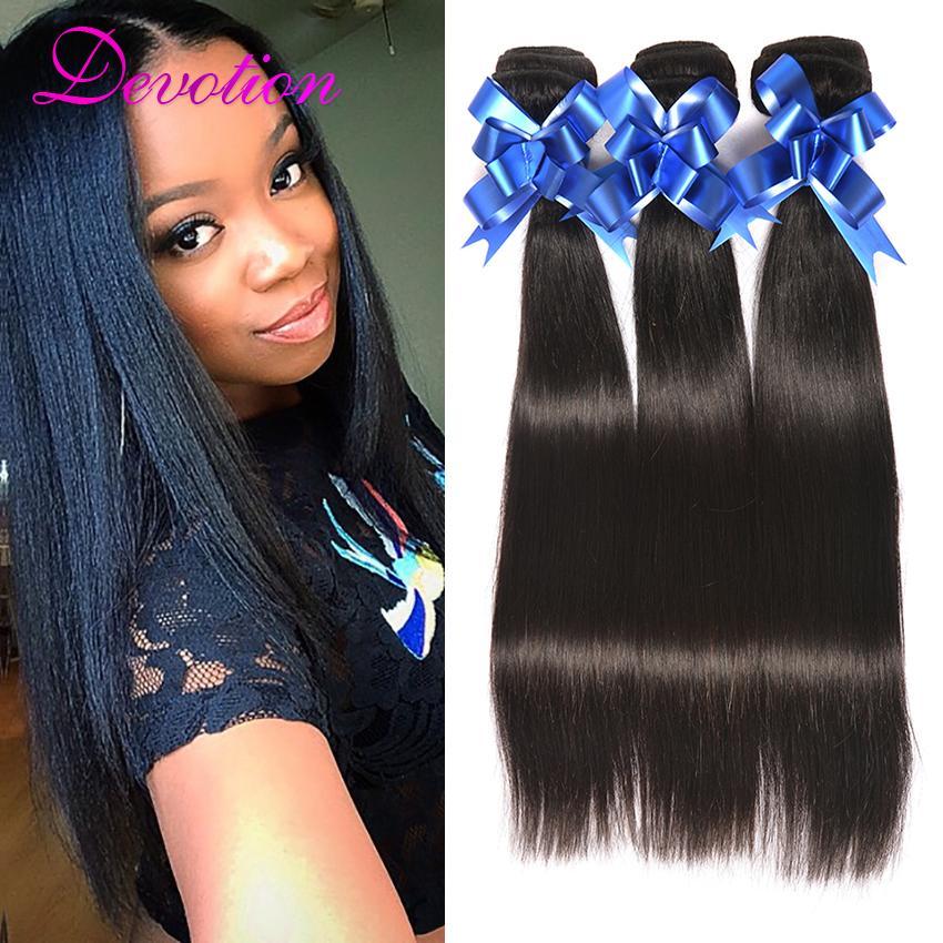 Brazilian Virgin Hair Straight Weave Highest Quality Extensions 3