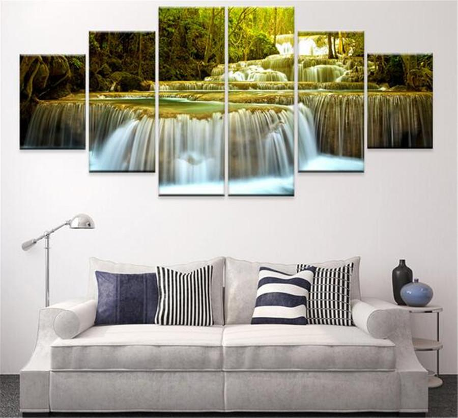 2018 Canvas Oil Painting Decoracion Multi Panel Wall Art Pictures  Decorativos Modern Photos No Frames Canvas Abstract From Sojo, $111.33 |  Dhgate.Com