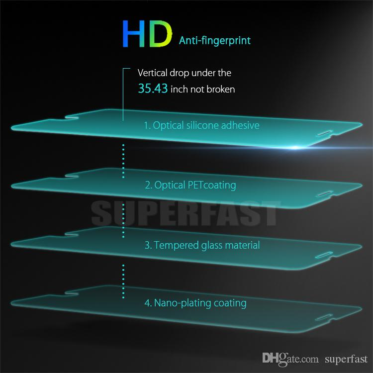 Screen Protector для iPhone 12 PRO MAX XR XS 6S 8 PLUS Samsung A71 LG Stylo 6 закаленное стекло Protector Films 1 пакет в коробке