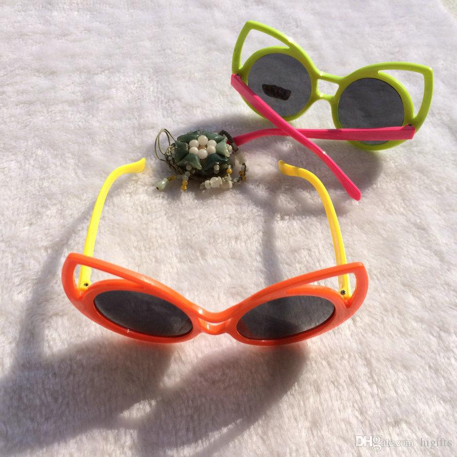 Fashion Kids Summer Sunglasses Goggles For Baby Sun Glasses Eyewear For Children Girls Boys Wholesale