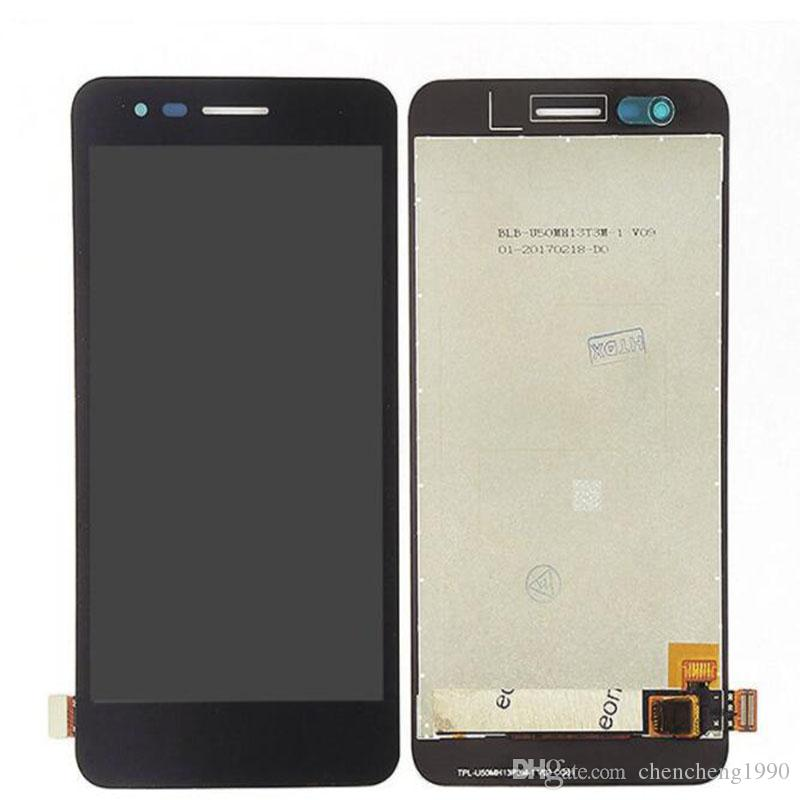 For LG K4 2017 Version New Test Original M160 LCD Touch Screen Digitizer  Assembly Parts Black