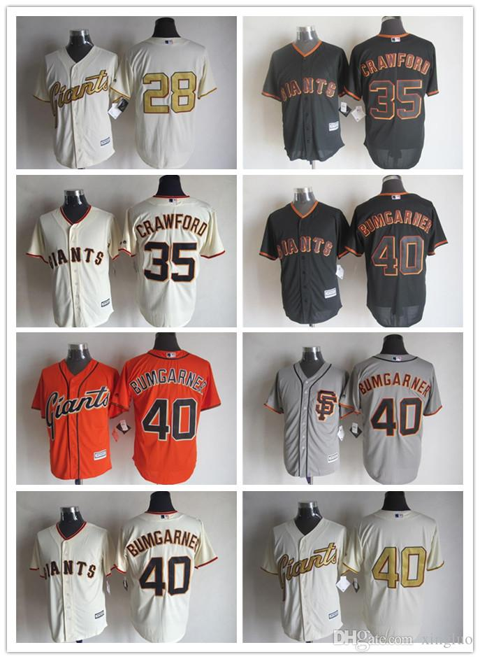 7b08cc310 promo code for 2017 san francisco giants baseball jerseys game 28 buster  posey 40 madison bumgarner
