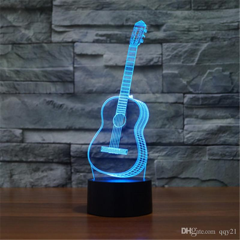 Best sax six strings guitar bedroom led desktop table lamp christmas best sax six strings guitar bedroom led desktop table lamp christmas usb valentines day birthday gift 3d touch button night light 3d td208 under 1718 aloadofball Images