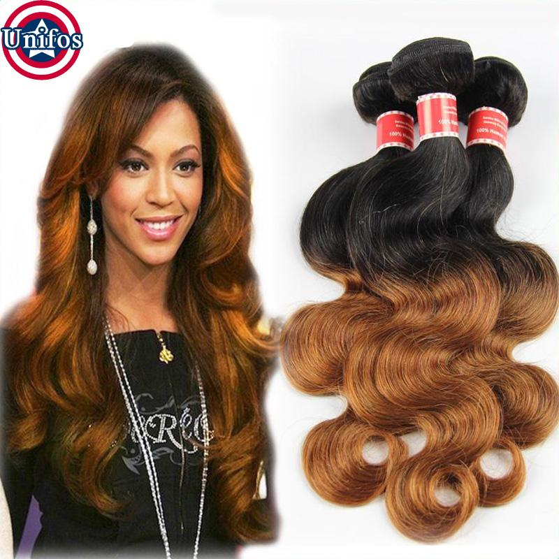 1b30 Brazilian Ombre Hair Extensions Body Wave Brazillian Ombre Hair