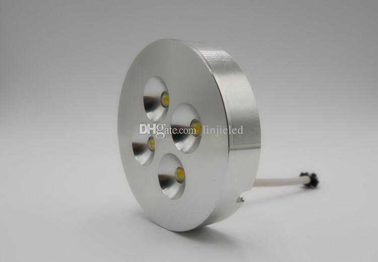 Wholesale price 3W/4W Dimmable LED Under Cabinet Light Puck Light for Kitchen lighting Surface Warm/Natural/Cool white AC110V/AC220V