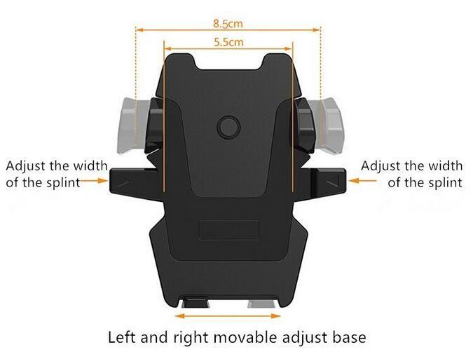 Soporte de soporte retráctil de 360 grados para portaequipajes Easy One Touch Soporte universal para ventosa Soporte para iPhone 8 7 6 S Plus Samsung S8 Note 8