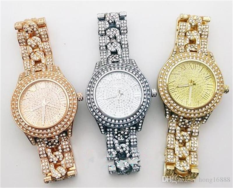 Rose Gold Luxury Casual Men Watch Dress Quartz Watches with Calendar Women Bracelet Style stainless steel band wholesale