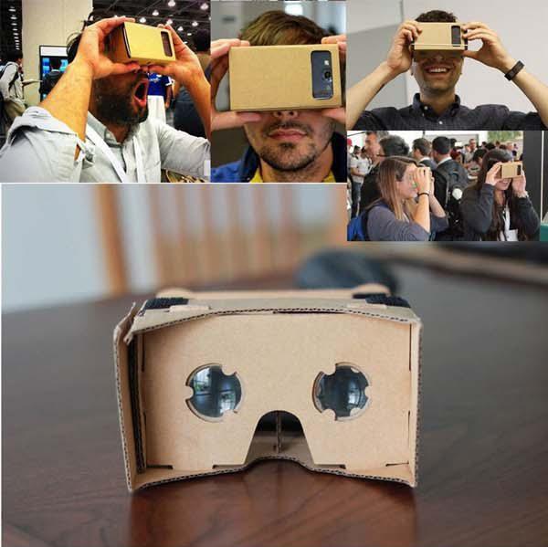 DIY Google cartón VR versión caja VR Realidad Virtual 3D Glasses durante 3,5 - Smartphone de 6.0 PULGADAS
