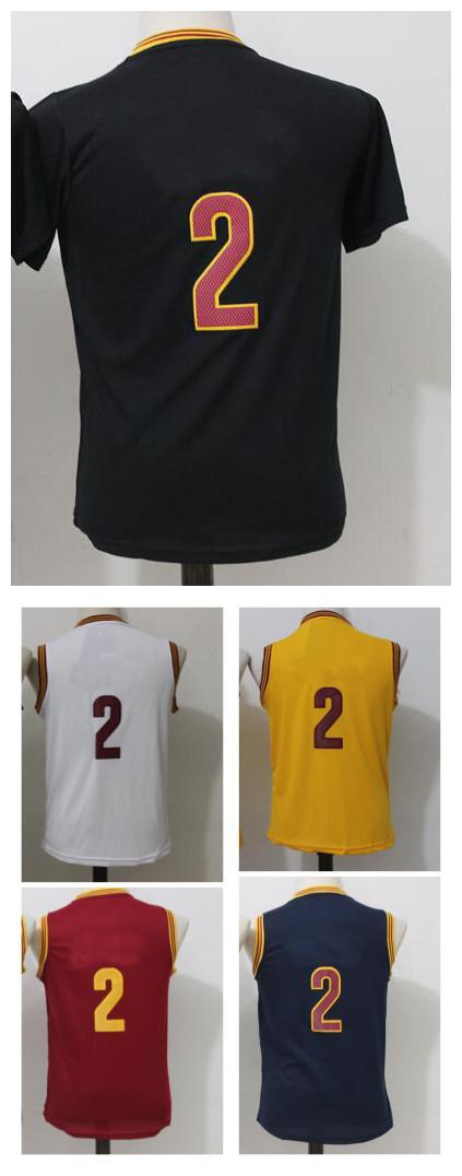 5a6604b201ea Cheap 2017 Youth 2 Basketball Jerseys Top Quality Size S-XL Kids Boys  Children Yellow White Red Black Sport Basketball Jerseys 2 Jerseys Cheap  Jerseys Hot ...