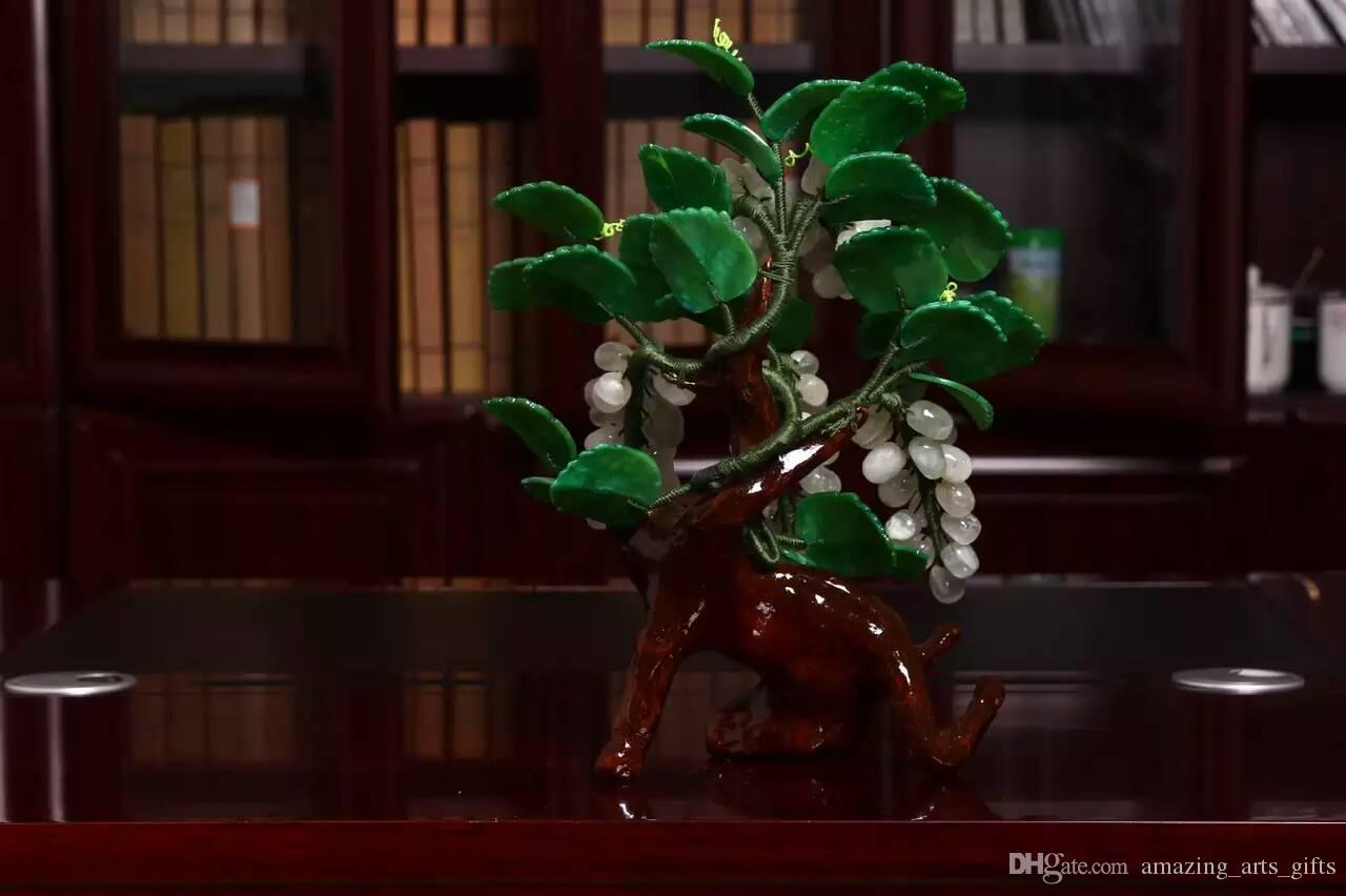 Grape vine for crafts -  Jade Grape Vine Arts And Crafts Gifts Office Home Decoration Creative Handicraft Ornament Home And Garden