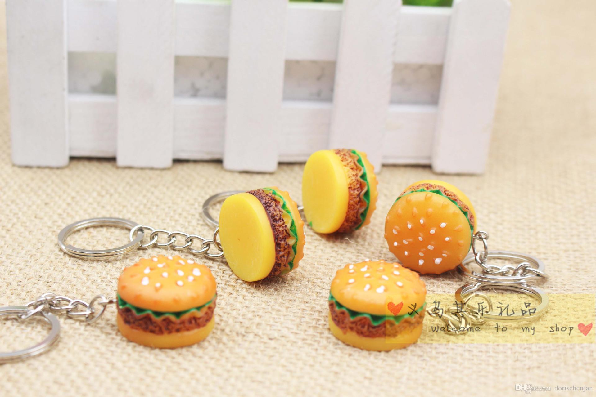 KeyChains Ringe Tasche Trinket Soft ewsin Schlüsselanhänger Minions Marines Mini Hamburger Schlüsselhalter Schlüsselanhänger Telefon Zubehör Geschenk