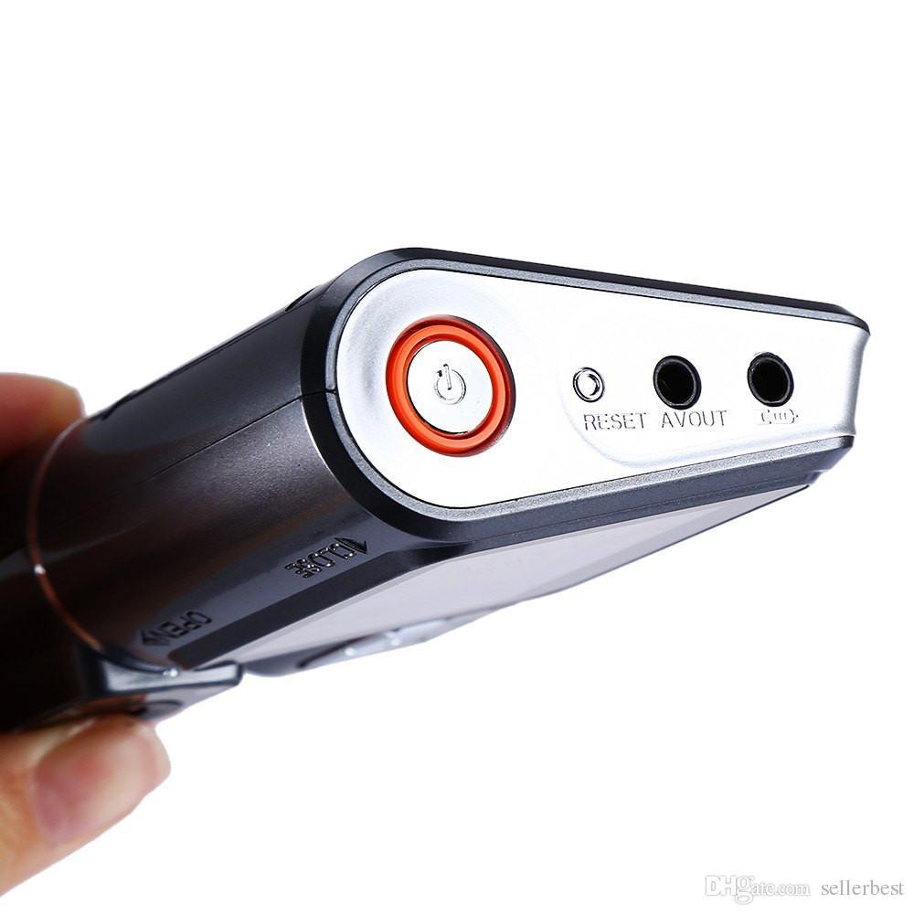 330 Degree Rotation Dual Lens Camcorder Auto Car DVR Dual Camera HD 1080P Dash Cam Black Box Driving Recorder With Parking Rear