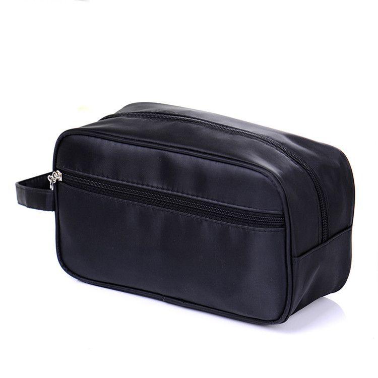 Hot portable tourism 190D nylon outdoor travel makeup cosmetic wash bag ELB034