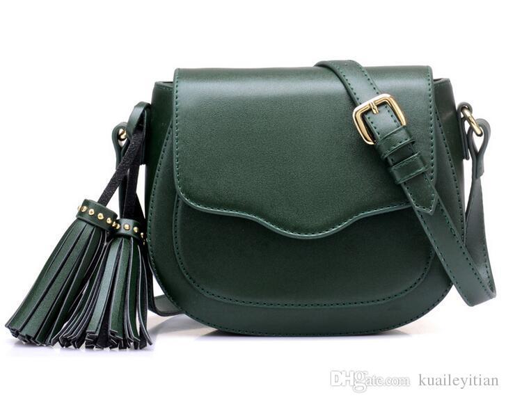 حار الأزياء شرابة حقيبة الكتف حقيبة مستحضرات التجميل جديد المرأة ماكياج المنظم حقيبة التخزين القضية