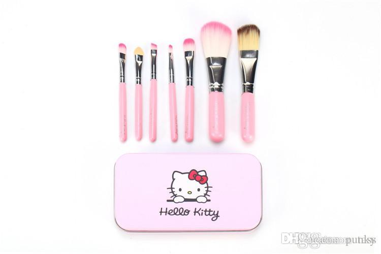 4e94f22fc Hello Kitty Makeup Brushes Professional a Cosmetic Brush Sets Makeup ...