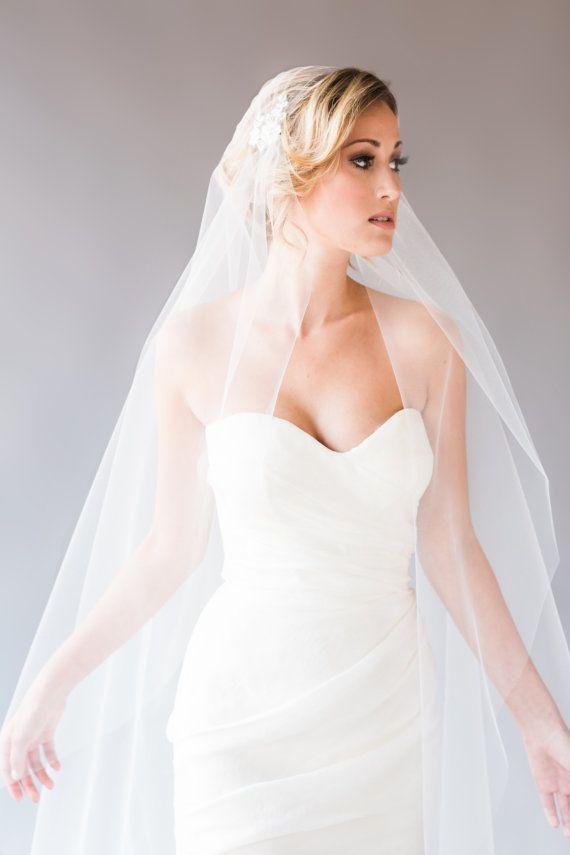 d19fd098b Belissima Noivas New Top Fashion Juliet Cap Valsa Corte Borda Com Applique  Véu Artesanal Uma Camada De Casamento Nupcial Véus De Tule Macio Vestidos De  ...