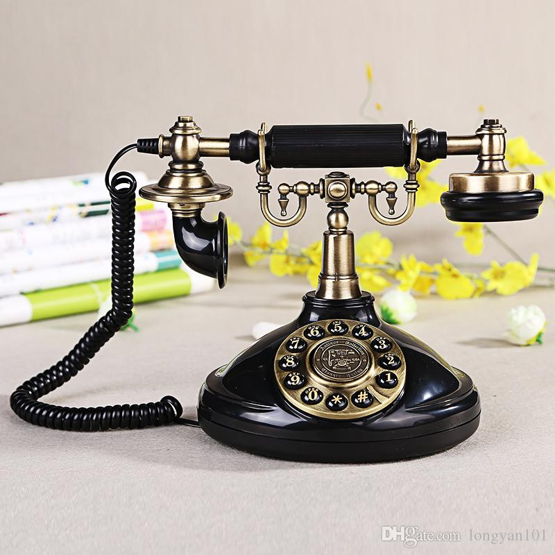 Vintage Antique Style Old Fashioned Retro Old Telephone Antique