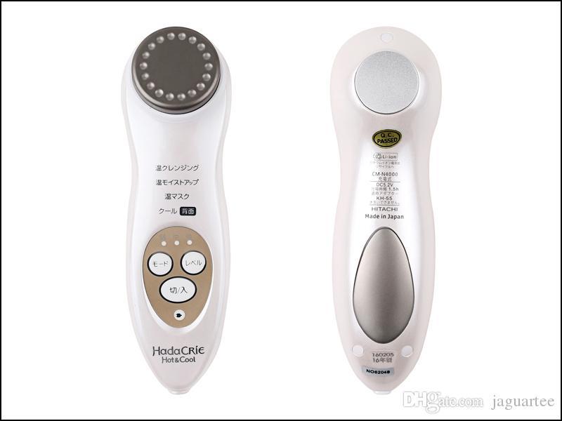 Hitachi CM-N4000 Spazzola la pulizia del viso Detergente a portata di mano Idratante Massager facciale Cura della pelle Dispositivo facciale palmare