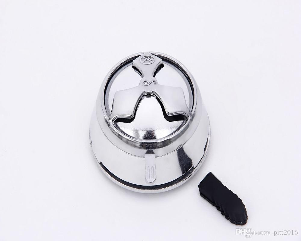 Cheap Metal Shisha Hookah Bowl Charcoal Holder Head Stove Burner Heat Keeper Mangueira Narguile Carbon box Chicha Hookah