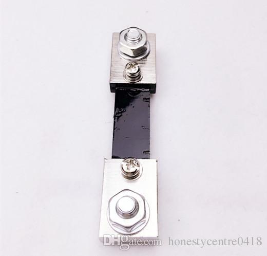 Painel do resistor da derivação da corrente da CC 100A para o medidor análogo do medidor do ampère de Digitas