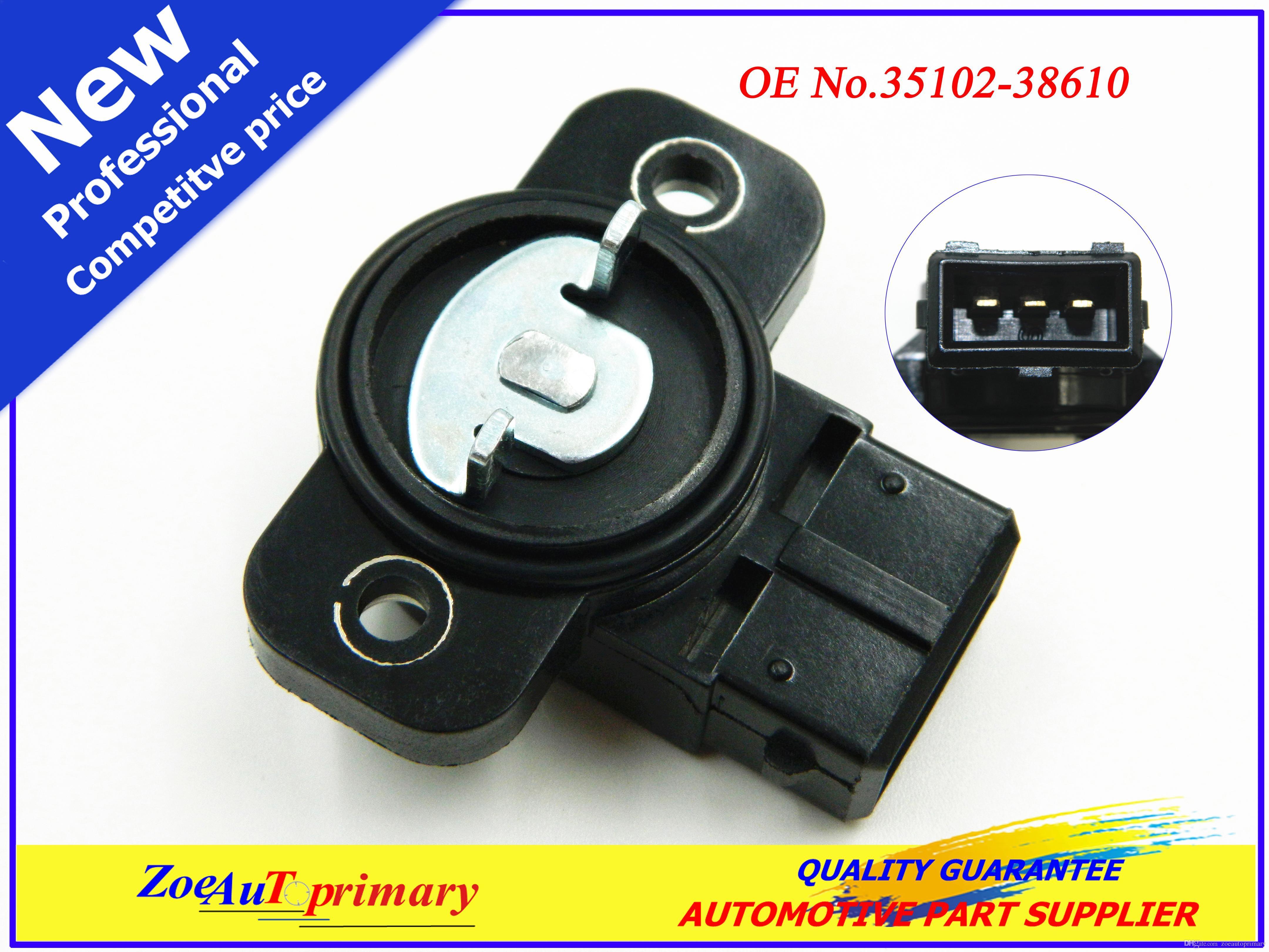3510238610 Throttle Position Sensor 35102 38610 For 01 06 Hyundai Mazda Wiring Santa Kia Optima 24l Online With