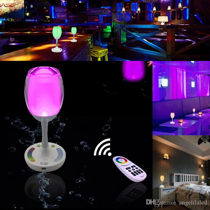 cheap mood lighting. Best Quality New Mood Lamp In 2016 Led Table Finger Touch Operated Rgbw Color Changing 2w Decor Wine Cup Light At Cheap Price, Online Novelty Lighting 2