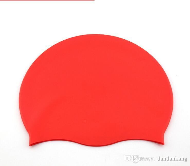 Высокого качество наушники силиконовой шапочки для плавания Материала летнего сезона унисекс swimg pooll шляпы для мужчин и женщина, латексных плавать шляпа
