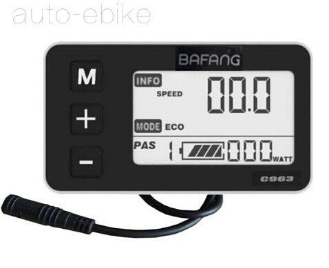 48 V 750 W 8fun / Bafang Mid Drive Moteur Central 2016 BBS02B Moteur à Manivelle Eletric Bicycles Trike Conversion DIY Kits Ebike avec C963 Écran LCD
