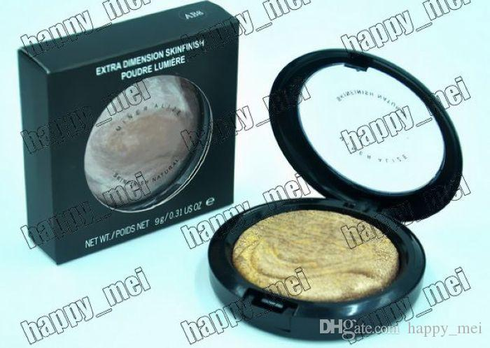 Factory Direct DHL New Makeup Face Extra Dimension Skinfinish Poudre Lumiere Face Powder!9g