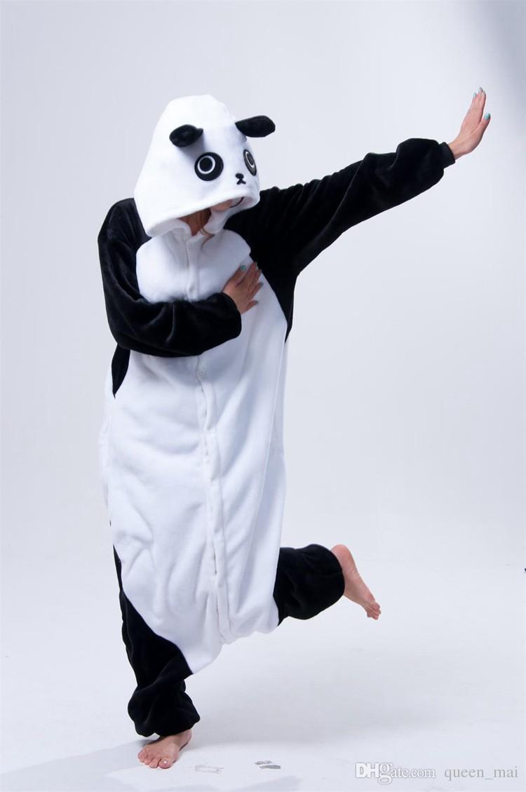 Panda Sleepsuit JP Anime Pajamas Kungfu Panda Cosplay Costume Pyjamas Hoodies Unisex Adult Onesie Pajama Sleepwear jumpsuit