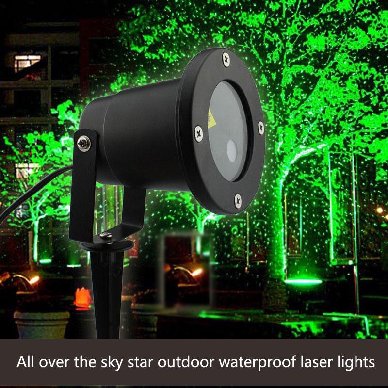 2018 all over the sky star outdoor waterproof laser projection lamp